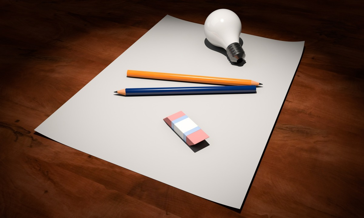 Picture of a blank piece of paper